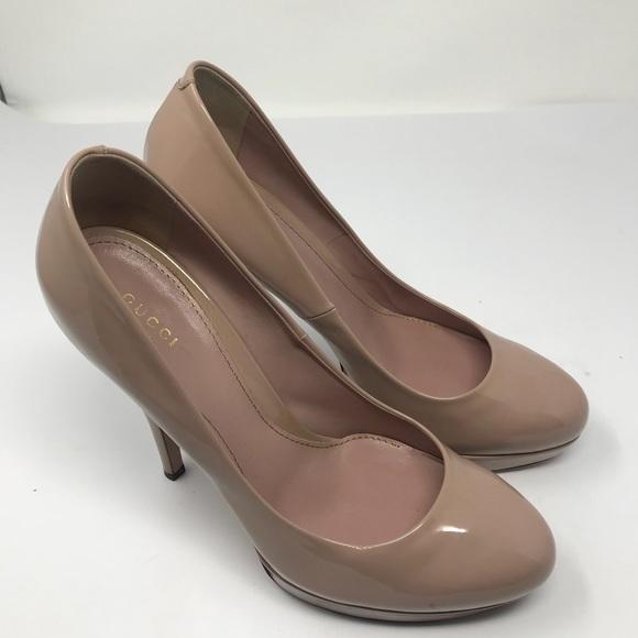 720b2543685c Gucci Shoes - GUCCI High Heel Platform Pumps 10 1 2 EU 41 1